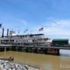 【ニューオーリンズ】蒸気船ナッチェス号に乗ってミシシッピ川クルーズへ。ジャズや景色を楽しむ。