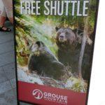 【バンクーバー】グラウス・マウンテンで大自然アクティビティを楽しもう!グリズリーベアにも会える。